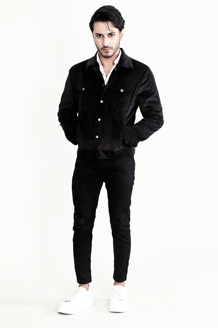 Shane Black Corduroy Jacket Front Full 2