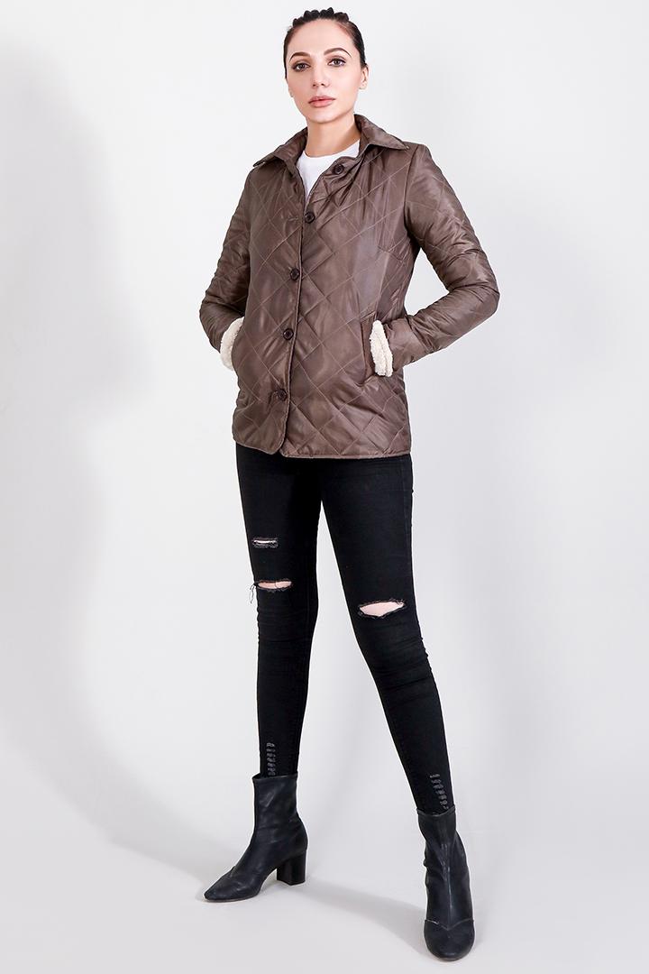 Alison Brown Windbreaker Jacket Full Front