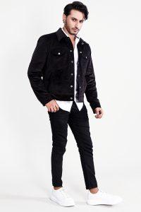Shane Black Corduroy Jacket Front Full