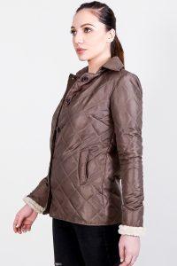 Alison Brown Windbreaker Jacket Half Side